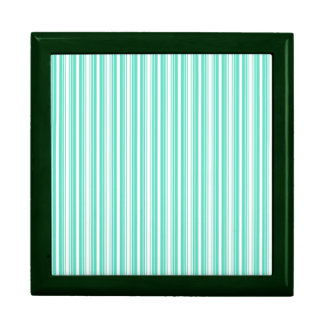 Deckchair Stripes in Tiffany Aqua Blue Jewelry Boxes