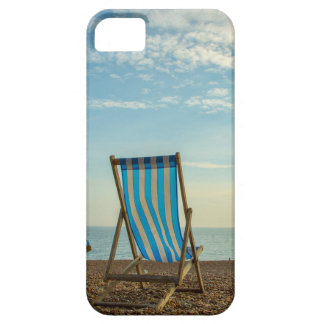 Deckchairs and pebbles iPhone6 case