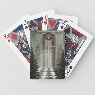 Decked Hall Bicycle Playing Cards