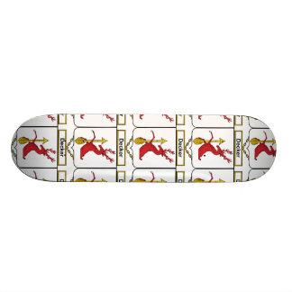 Decker Family Crest Custom Skate Board