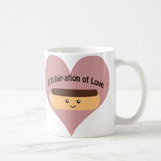 D'eclair-ation Of Love Coffee Mug