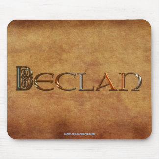 DECLAN Name-Branded Personalised Gift Mousepad