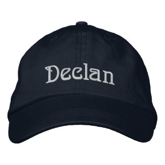 DECLAN Name Designer Cap Embroidered Hat