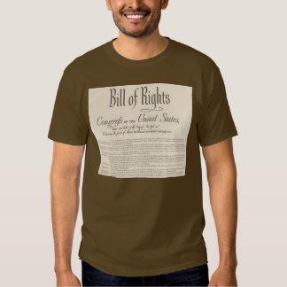 Declaración de Derechos Camisas