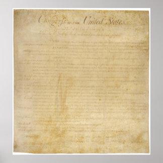 Declaración de Derechos ORIGINAL de la constitució Impresiones