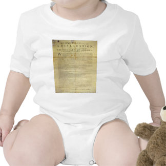 Declaración de Independencia 1774 del costado de Trajes De Bebé