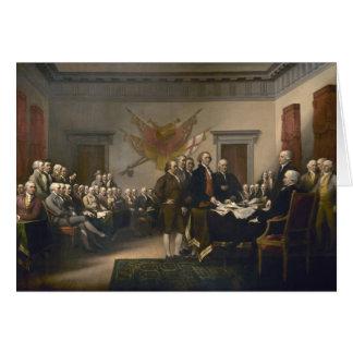 Declaración de Independencia - 1819 Tarjeta Pequeña