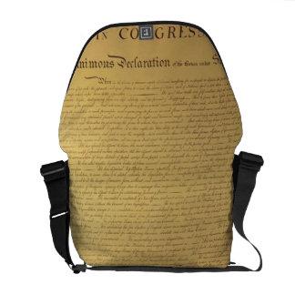 Declaración de Independencia Bolsas De Mensajería