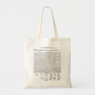 Declaración de Independencia Bolsa Tela Barata