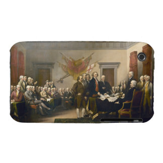 Declaración de Independencia de Juan Trumbull 1819 Case-Mate iPhone 3 Protectores