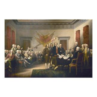 Declaración de Independencia de Juan Trumbull 1819 Fotografía