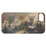 Declaración de Independencia de Juan Trumbull 1819 iPhone 5 Carcasas