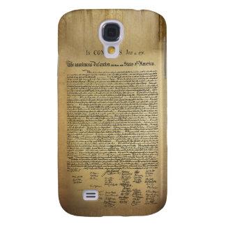 Declaración de Independencia del vintage Funda Para Galaxy S4