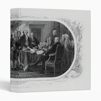 Declaración de Independencia grabada Juan Trumbull