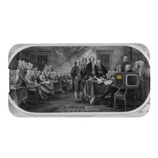 Declaración de Independencia grabada Juan Trumbull Funda De Galaxy S5