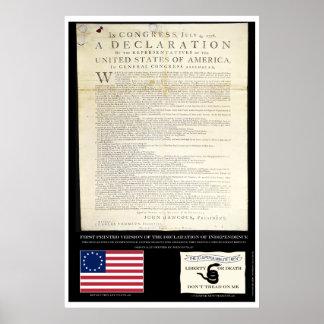 Declaración de Independencia Posters