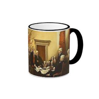 Declaración de Independencia por la taza de Juan