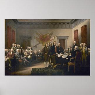 Declaración de Independencia Póster
