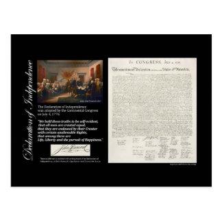 Declaración de Independencia Tarjeta Postal