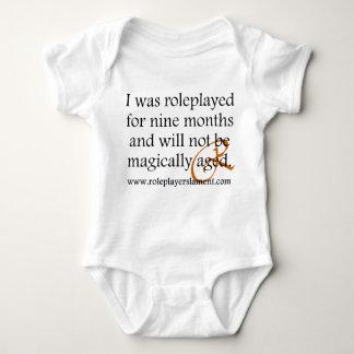Declaración del bebé remera
