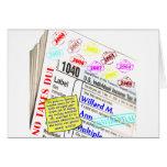 Declaración del impuestos de Mitt Romney 2009 Tarjetas