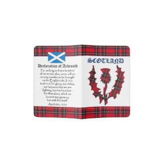 Declaración escocesa de la independencia de porta pasaporte