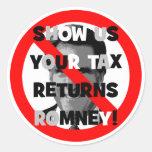 Declaraciones de impuestos de Romney Etiquetas