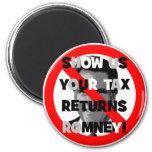 Declaraciones de impuestos de Romney Imán De Frigorífico