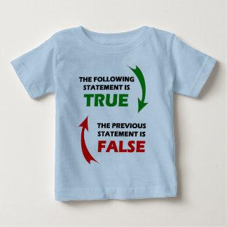 Declaraciones verdaderas y falsas poleras