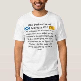 Declaration of Arbroath Tee Shirt
