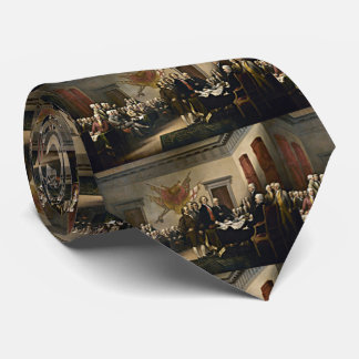 Declaration of Independence 1776 Neck Tie