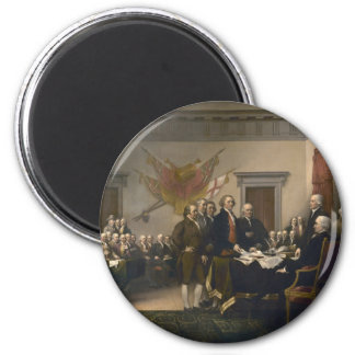 Declaration of Independence - 1819 2 Inch Round Magnet