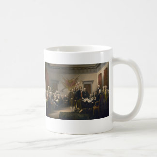 Declaration of Independence - 1819 Classic White Coffee Mug
