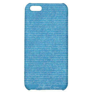 Declaration of Independence Blueprint Iphone Cover iPhone 5C Case