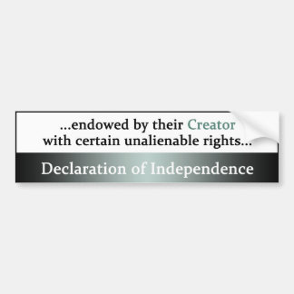 Declaration of Independence Bumper Stickers