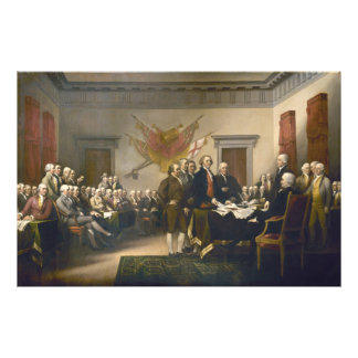 Declaration of Independence by John Trumbull 1819 Photo