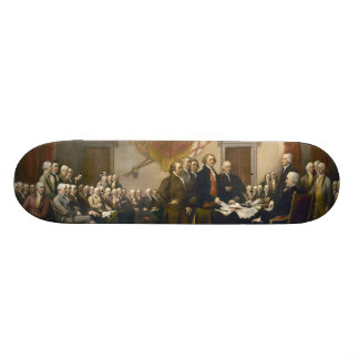Declaration of Independence by John Trumbull 1819 Skate Board Deck