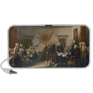 Declaration of Independence by John Trumbull 1819 iPod Speakers