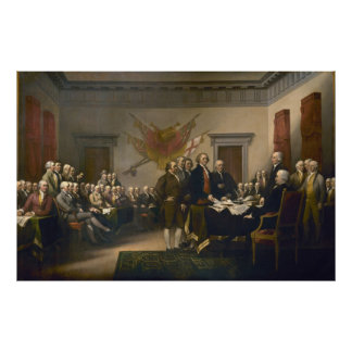 Declaration of Independence by John Trumbull Poster