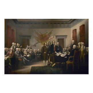 Declaration of Independence by John Trumbull Print