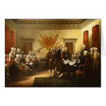 Declaration of Independence by Trumbull Note Card
