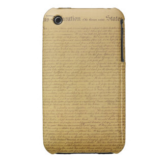 Declaration of Independence iPhone 3 Case-Mate Case