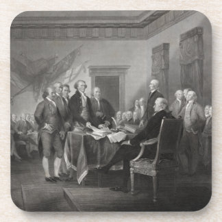 Declaration of Independence Drink Coasters