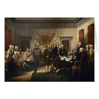 Declaration Of Independence Gas Card