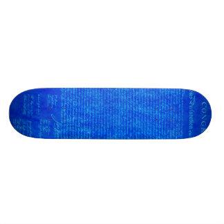 Declaration of Independence ICE Skateboard