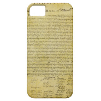 Declaration of Independence  iPhone 5 Case