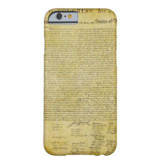 Declaration of Independence iPhone 6 case iPhone 6 Case