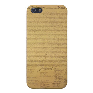 Declaration of Independence Case For iPhone 5