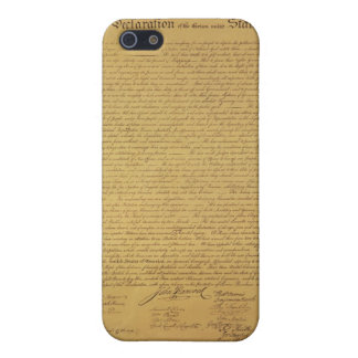 Declaration of Independence iPhone SE/5/5s Cover