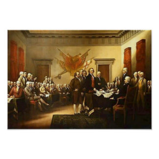 Declaration of Independence John Trumbull Poster